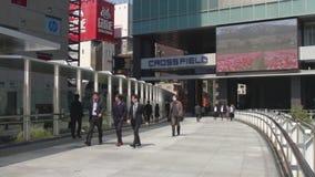 在电镇的街道在秋叶原东京 影视素材