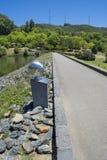 在登上崇高植物园的道路, SA 图库摄影