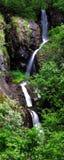 在白云岩的瀑布 库存照片