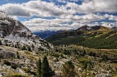 在白云岩的Armentarola 库存照片