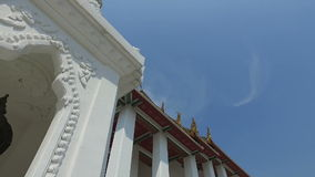 在白天的佛教寺庙 影视素材