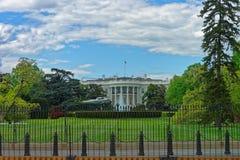 在白宫前面的直升机 图库摄影