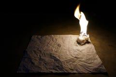 在白皮书2的蜡烛艺术 免版税库存图片