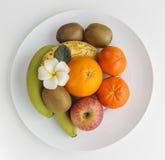 在板材的健康果子 库存图片