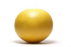 在白色查出的葡萄柚 免版税图库摄影