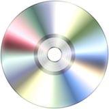 在白色查出的CD 库存图片