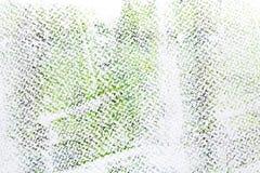 在白色水彩纸背景的滚动的丙烯酸漆 库存例证