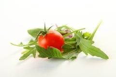 在白色的新鲜蔬菜 库存图片