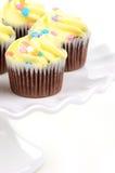 复活节杯形蛋糕 免版税图库摄影