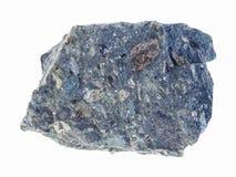 在白色的粗砺的金伯利岩石头 图库摄影