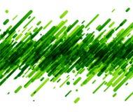 在白色的绿色抽象背景 库存例证