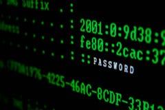 在白色的背景计算机显示器查出的监控程序 免版税库存照片