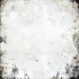 在白色的被弄皱的纸纹理 免版税库存照片