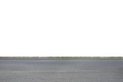 在白色的路旁 免版税库存照片