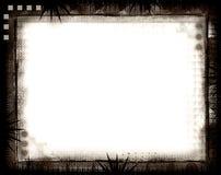 在白色的边界grunge 免版税库存图片