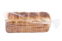 在白色的面包 免版税库存照片