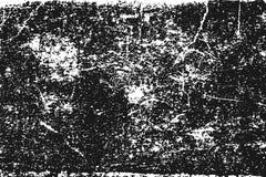 在白色的黑粒状纹理 图库摄影