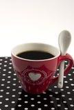 在白色的Coffe杯子 免版税图库摄影