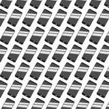 在白色背景传染媒介例证的光滑的智能手机样式 免版税库存照片