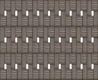 在白色背景土气设计基地支持eco风化的交错的木纹理块样式自然 库存例证