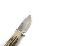 在白色背景的刀子 免版税库存照片