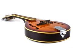在白色背景的国家mandoline 免版税图库摄影