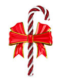 在白色背景的圣诞节糖果 库存图片