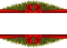 在白色背景的圣诞节边界 也corel凹道例证向量 皇族释放例证