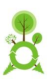 地球环境图表 免版税库存照片