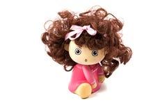 女孩玩偶。 免版税库存图片
