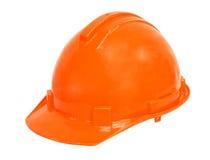 在白色背景的安全帽 免版税库存图片
