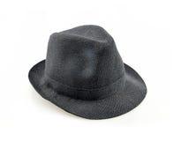 在白色背景的帽子 免版税库存图片