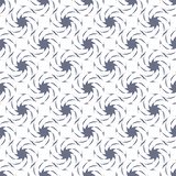 在白色背景的弯曲的样式 作为对墙纸的背景服务 上色模式可能的变形多种向量 库存例证