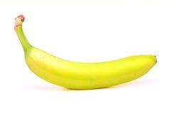 在白色背景的成熟香蕉 免版税库存图片