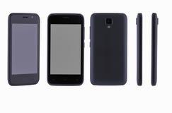 在白色背景的手机 免版税库存照片