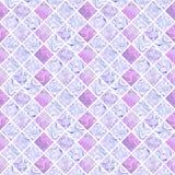 在白色背景的抽象五颜六色的无缝的样式 免版税库存图片