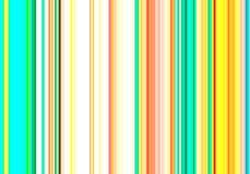 在白色背景的抽象橙色绿色黄色软的垂直线 免版税图库摄影