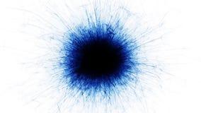 在白色背景的抽象闪闪发光 库存例证