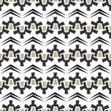在白色背景的无缝的抽象纹理样式 库存图片