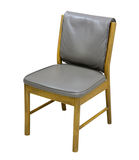 在白色背景的椅子 免版税库存照片