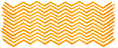 在白色背景的橙色水彩Z形图案 库存图片