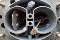 在白色背景的气化器 库存照片
