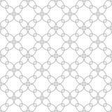 在白色背景的灰色几何设计 无缝的模式 库存照片
