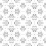 在白色背景的灰色无缝的样式 免版税库存照片