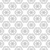 在白色背景的灰色无缝的设计 免版税库存照片