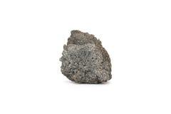 在白色背景的焦炭煤炭 免版税库存照片