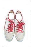 白色鞋子 图库摄影