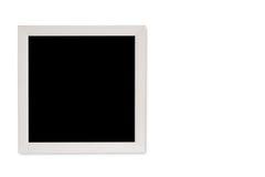 在白色背景的空的画框 免版税库存图片
