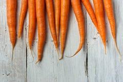 在白色背景的红萝卜 免版税库存图片