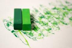 在白色背景的绿色柔和的淡色彩与样式 库存图片